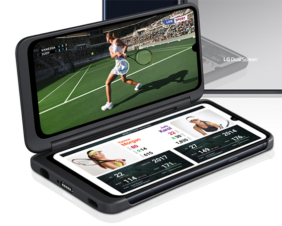 LG전자의 듀얼 스크린폰 'V50S 씽큐'