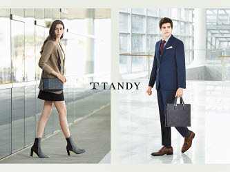 탠디는 200여 개의 백화점·아웃렛 매장에서 트렌드를 주도하고 있다.