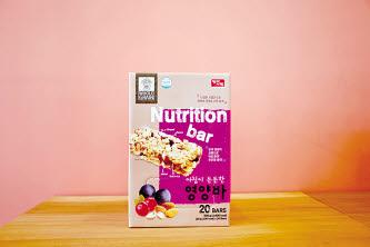 아침이 든든한 영양바는 원료 로스팅부터 레시피까지 제품력이 뛰어나다.