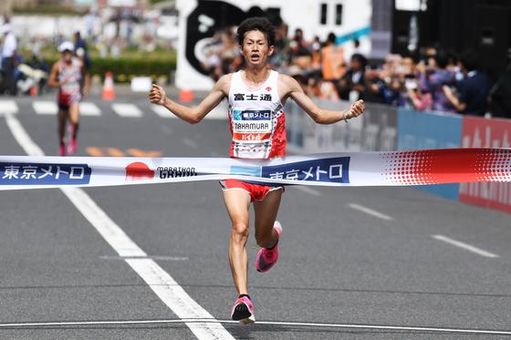 도쿄올림픽 테스트이벤트로 지난달 열린 도쿄 마라톤. [AFP=연합뉴스]
