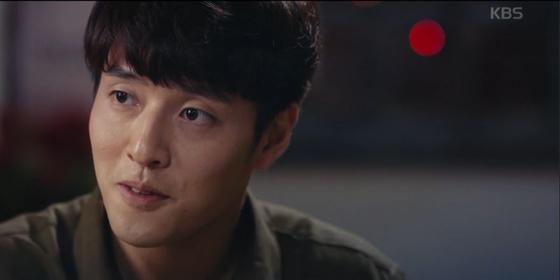KBS2 수목드라마 '동백꽃 필 무렵'의 남주인공 용식(강하늘). [방송캡처]
