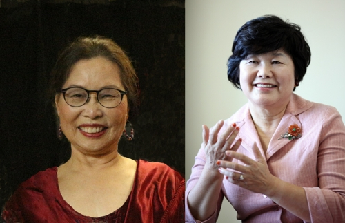 김영기·박은경 자랑스러운 경기인 수상