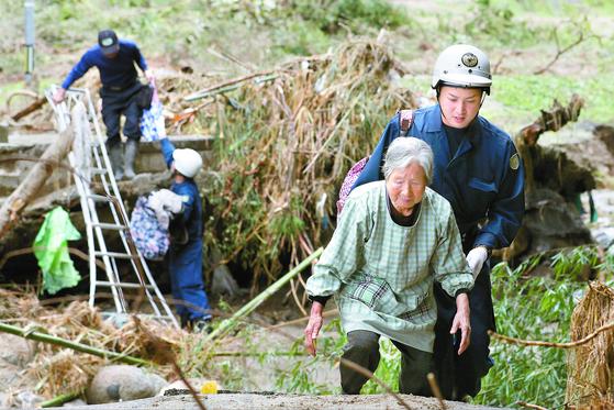 일본 태풍 75명 사망 ... 후쿠시마 28명 최대