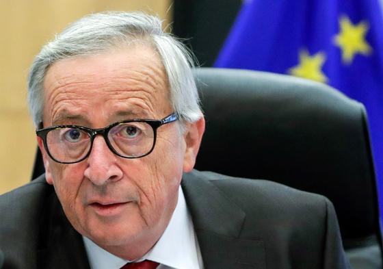 장클로드 융커 EU 집행위원장. [EPA=연합뉴스]