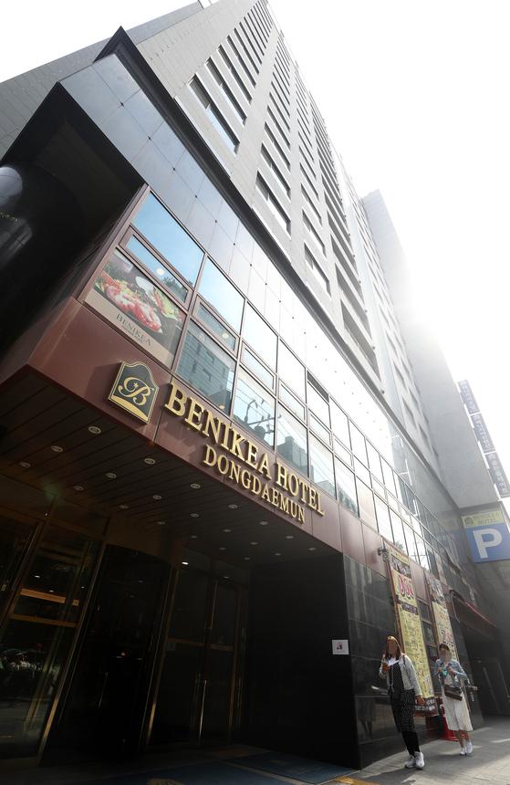 호텔에서 역세권 청년주택으로 용도변경되는 서울 종로구 베니키아 호텔 [뉴시스]