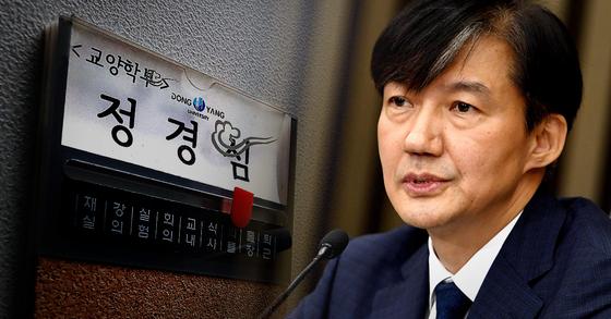조국 전 법무부 장관과 부인 정경심 동양대 교수 [중앙포토·연합뉴스]