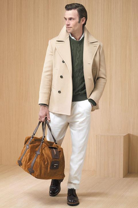 브루넬로 쿠치넬리의 2019년 가을/겨울 남성 컬렉션은 특유의 시그니처 스타일에 1950년대의 패션 아이콘들을 연상시키는 실루엣과 다양한 콤비네이션을 접목해 우아함과 편안함이 공존한다. [사진 브루넬로 쿠치넬리]