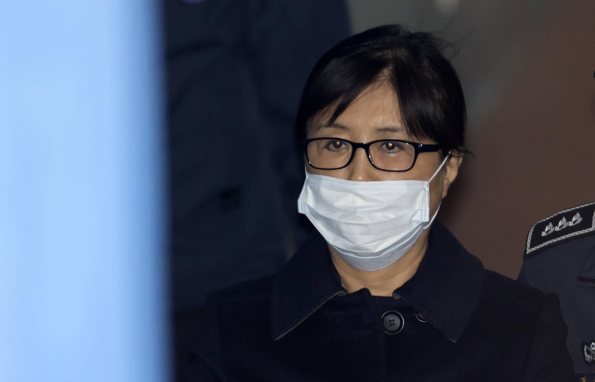 '국정농단' 사건의 핵심 피고인 최순실씨. [뉴스1]