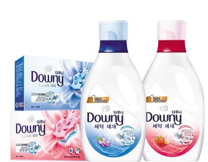 신제품 다우니 세탁 세제는 한국 소비자들의 빨래 습관에 대한 심도 있는 분석을 바탕으로 개발된 프리미엄 제품이다. [사진 한국피앤지]