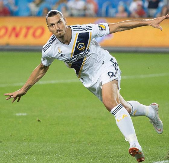이브라히모비치가 2년 연속 MLS 유니폼 판매왕을 차지했다. [사진 이브라히모비치 인스타그램]