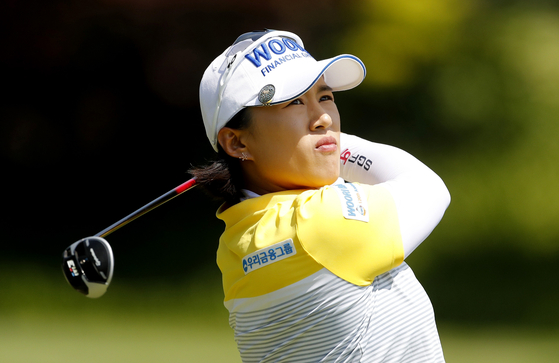 양희영, LPGA 뷰익 상하이 2R 공동 4위...브룩 헨더슨 선두