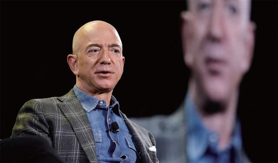아마존 창업자이자 CEO인 제프 베조스.