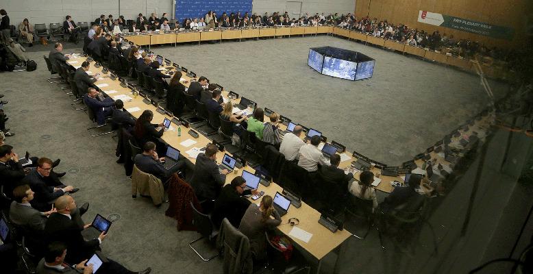 국제자금세탁방지기구(FATF) 총회 전경. [사진 FATF]