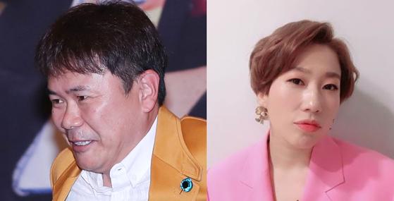 강성범씨(왼쪽)과 김영희씨