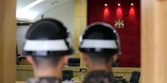 상관을 모욕하거나 폭행하는 대상관 범죄가 늘고 있다. 사진은 군사법원 모습. [뉴스1]