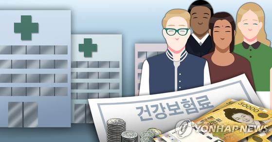 7월부터 국내에 6개월 이상 머무는 외국인(재외국민 포함)은 건강보험에 의무 가입해서 매달 11만원 이상의 보험료를 낸다. [연합뉴스]