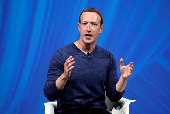 마크 저커버그 페이스북 CEO. [로이터]