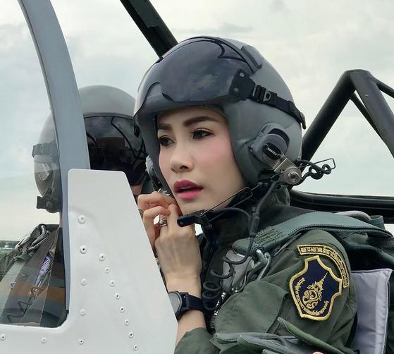 마하 와찌랄롱꼰 태국 국왕의 배우자인 시니낫 웡와치라파크디. [AP=연합뉴스]