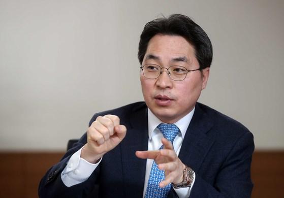 고삼석 방송통신위원회 상임위원. [중앙포토]