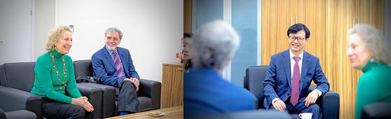 경희사이버대학교는 해외 석학 특강 시리즈의 일환으로 Rena F. Subotnik 소장, Edward Crowe 회장과 함께 촬영을 진행했다.