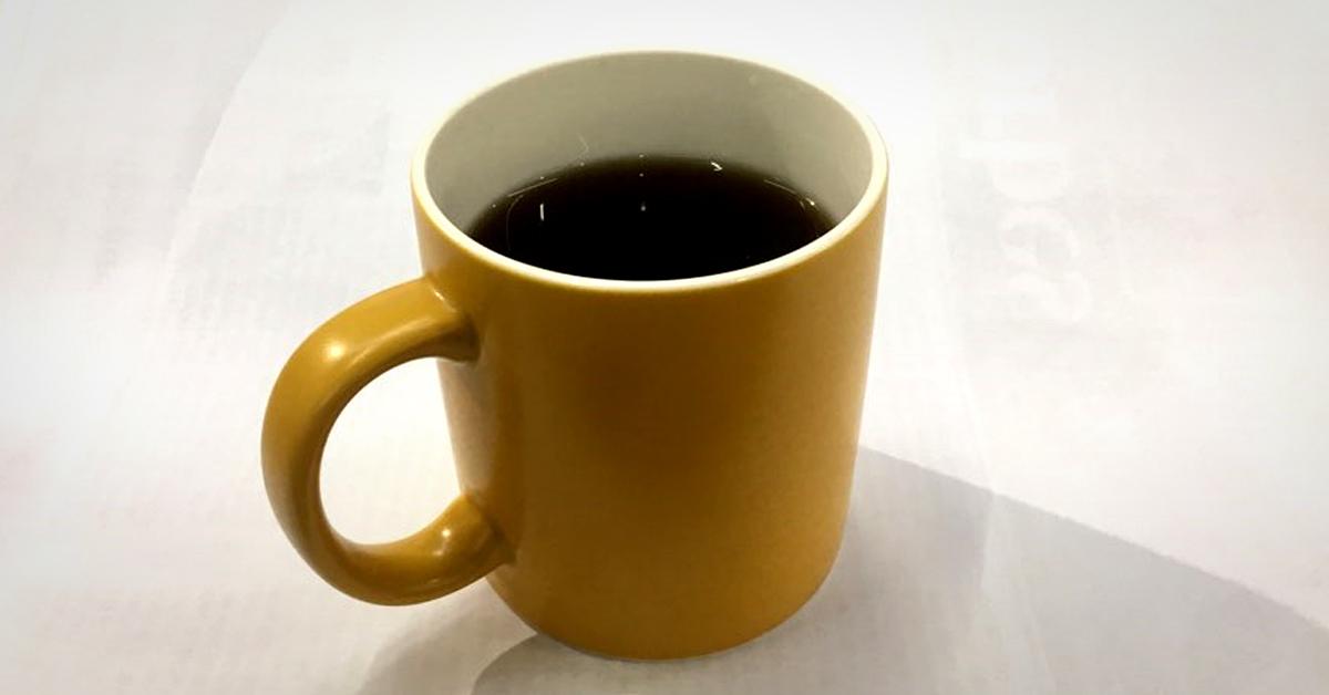 아메리카노 커피 한 잔. [중앙포토]