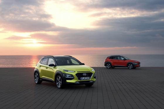 현대차 코나. 코나EV는 3분기 유럽시장에서 강세를 보이며, 판매 대수가 지난해 같은기간보다 300% 이상 늘었다. [사진 현대차]