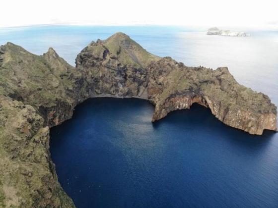 아이슬란드에 위치한 벨루가 피난처 전경. 세계 처음으로 열린 해수역에 만들어진 보호시설이다. [사진 씨라이프재단]