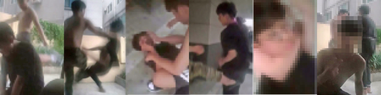 목 졸라 기절시키고 브이…폭행영상 찍어 돌려본 중학생들