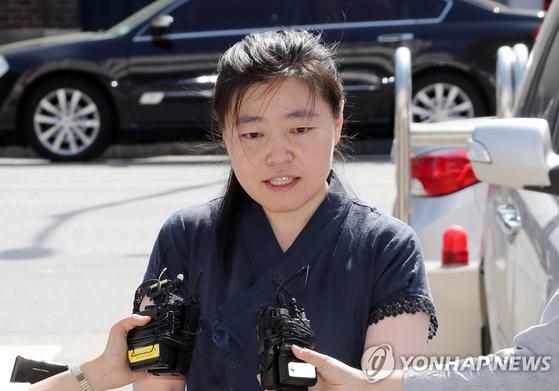 김수남 전 검찰총장 등 전·현직 검찰 고위 인사들을 직무유기 혐의로 고발한 임은정 부장검사 [연합뉴스]