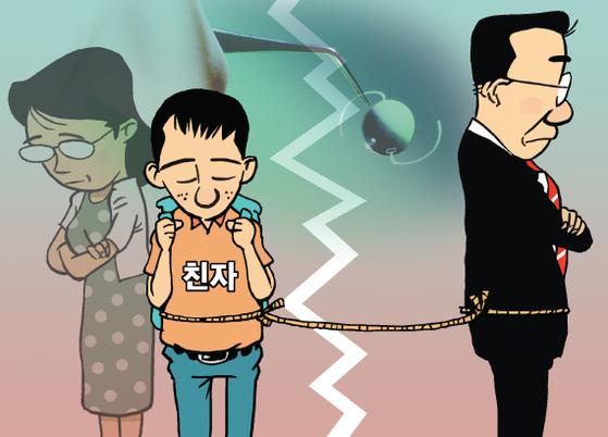 대법원 전원합의체가 23일 A씨가 자녀들을 상대로 낸 친생자관계 부존재 확인 소송 상고심을 열어 각하 판결한 원심을 확정했다. [중앙포토]