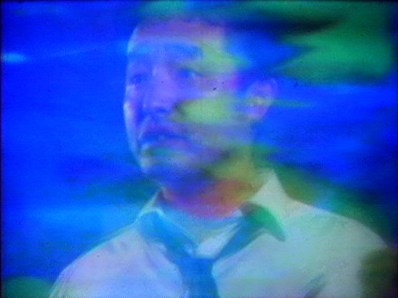 Nam June Paik and Jud Yalkut Video Commune (Beatles Beginning to End): An Experiment for Television by Nam June Paik 1970 Single-channel video, color, with sound Courtesy of Electronic Arts Intermix (EAI), New York and the Estate of Nam June Paik [사진 테이트 모던]