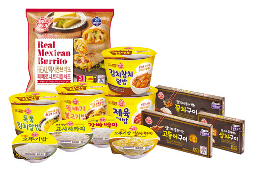 ㈜오뚜기는 카레·즉석밥·컵밥에 이어 생선구이까지 다양한 간편식을 선보였다. [사진 ㈜오뚜기]