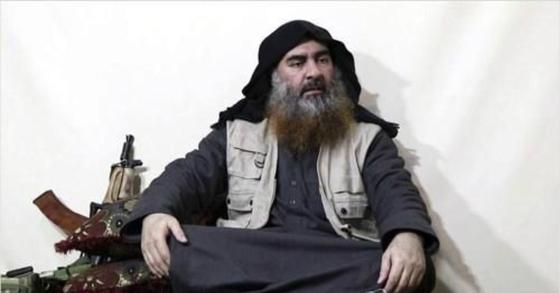 '이슬람국가'(IS) 최고지도자 아부 바크르 알 바그다디. [AP=연합뉴스]