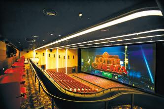 롯데시네마는 영화관 상영 환경의 질을 높이기 위한 다양한 노력을 한다. [사진 롯데시네마]