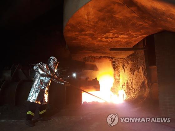 현대제철 당진제철소 고로 3공장. [연합뉴스]