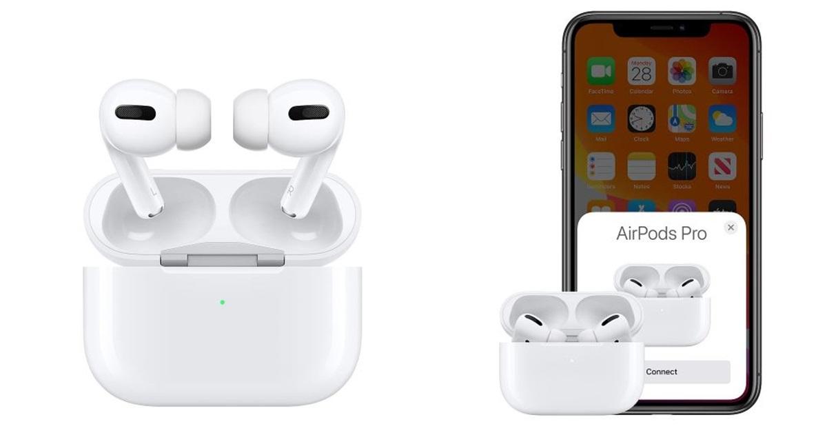 애플의 프리미엄 무선 이어폰 '에어팟 프로'. [사진 애플]