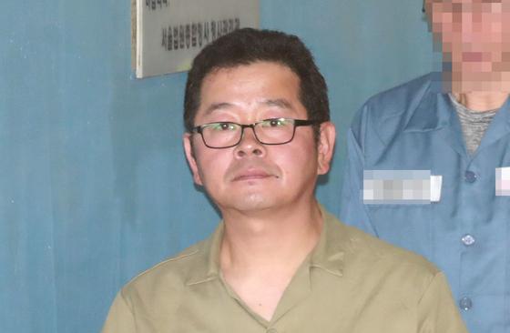윤석열 총장 등에 대해 협박성 방송을 한 혐의로 구속된 유튜버 김상진(49)씨. [연합뉴스]