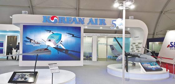 대한항공은 국내 최고의 무인항공기 체계 업체로서, 다양한 무인기 라인업을 구축하고 고객에 게 최적의 솔루션을 제공한다. 해외 시장 진출도 적극적으로 노리고 있다. [사진 대한항공]