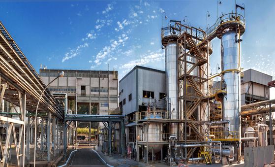 미국 크레이튼 카리플렉스가 운영 중인 브라질 고부가가치 라텍스 생산공장 [사진 대림산업]