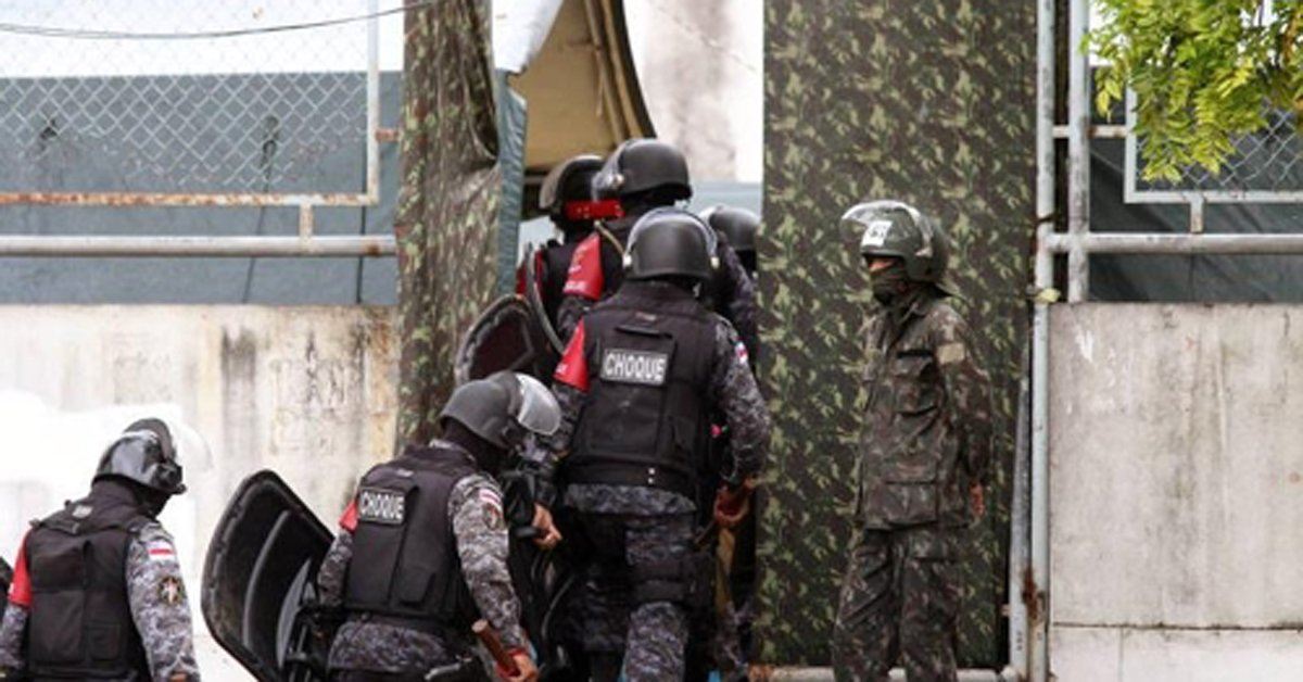 브라질 북부 마나우스 시에서 경찰과 마약밀매조직 간에 벌어진 총격전으로 17명이 사망했다. [브라질 뉴스포털 UOL=연합뉴스]