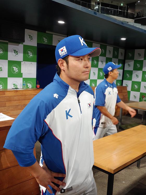 야구대표팀 4번 타자 박병호. 박소영 기자