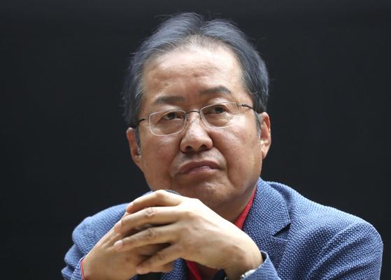홍준표 자유한국당 전 대표. [연합뉴스]