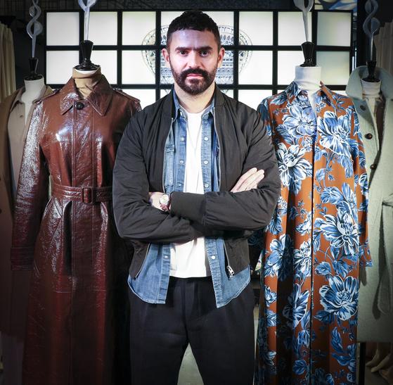 지난 10월 17일 서울을 찾은 패션 브랜드 '아미(Ami)'의 디자이너 알렉산드르 마티우시. 임현동 기자