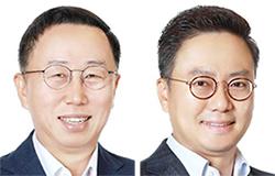 이건준(左), 홍정국(右)