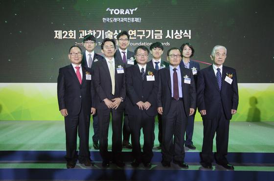 윤주영·이두성 교수 한국도레이 과학기술상 수상