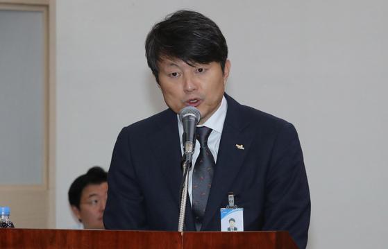 유재수 전 부산시 경제부시장. 송봉근 기자