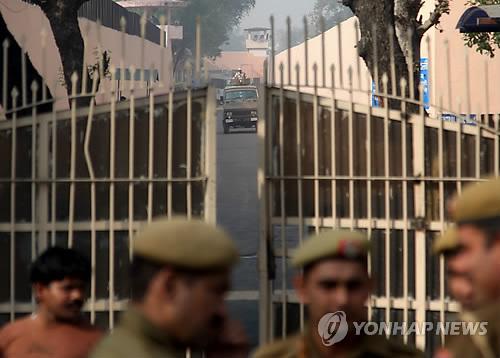 인도 뉴델리주 티하르 교도소. [EPA=연합뉴스]