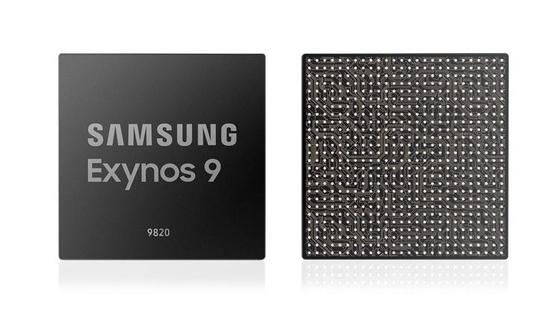 삼성전자 자체 개발 CPU코어를 탑재한 '엑시노스 9810' 모바일 애플리케이션 프로세서(AP) [사진 삼성전자]
