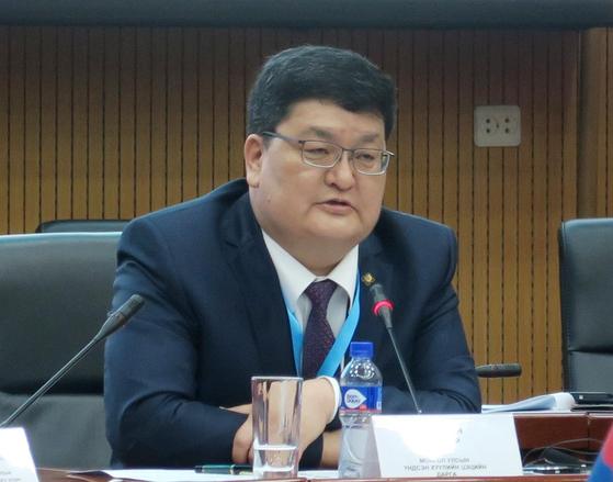 오드바야르 도르지 몽골 헌법재판소장. [연합뉴스]