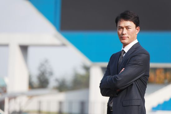 4일 기자간담회를 갖고 공식 일정을 소화하기 시작한 허삼영 삼성 감독. 삼성 제공